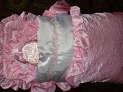 Продам конвертик для девочки Happy day.Конверт на молнии+одеяло+чепчик