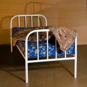 Кровати металлические эконом-класса  в широком ассортименте - оптом