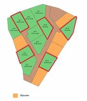 Продаётся земельный участок для дачного строительства,  площадь 10 сот.