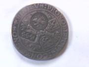 талер 1538года(ефимок)1655года