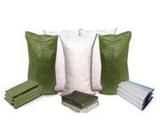 Продаем полипропиленовые мешки белые,  зеленые