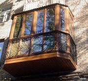 Отделка балконов и лоджий в Щёкино под ключ