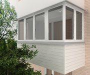 Остекление балконов, лоджий в Туле и области.Отделка