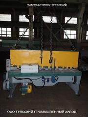 Капитальный ремонт гильотинных ножниц НД3316,  НК3418,  СТД-9,  Н3218. Пр