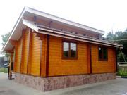 Покраска,  шлифовка и комплексная отделка деревянного дома