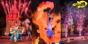 Огненное шоу Fire Princess