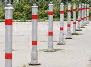 Парковочные столбики анкерные,  бетонируемые,  передвижные,  съемные