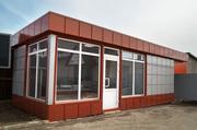 Монтаж торговых павильонов в Щёкино.